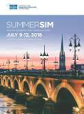 International 2018 Summer Simulation Multi-Conference - July 9-12, 2018 | University of Bordeaux | Bordeaux, France